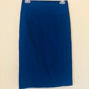 Express Blue Skirt Size 4 H9